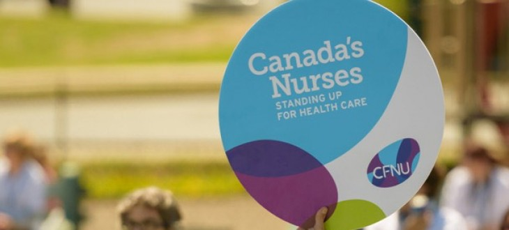Canada's Nurses Standing up for Healthcare
